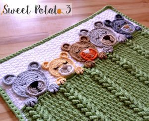 We just wrapped up month long CAL and am now ready to share the Sleep Tight Teddy Bear Pattern with all of you! This baby blanket is full of rich... Read more »