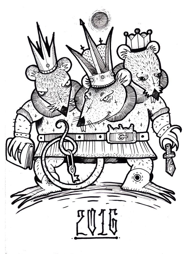открытка мышиный король проводишь
