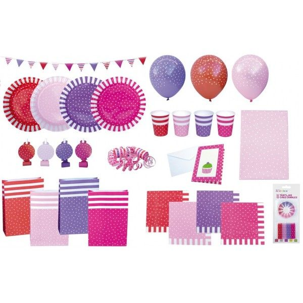 Coordinati per festa di compleanno rosa
