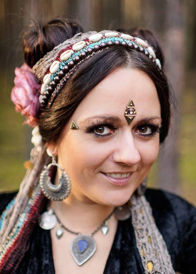 dancer: Patrycja from Kachina Tribal Bellydance, fot. Adam Kliczek Photography, bindi: https://www.facebook.com/tribal.bindi