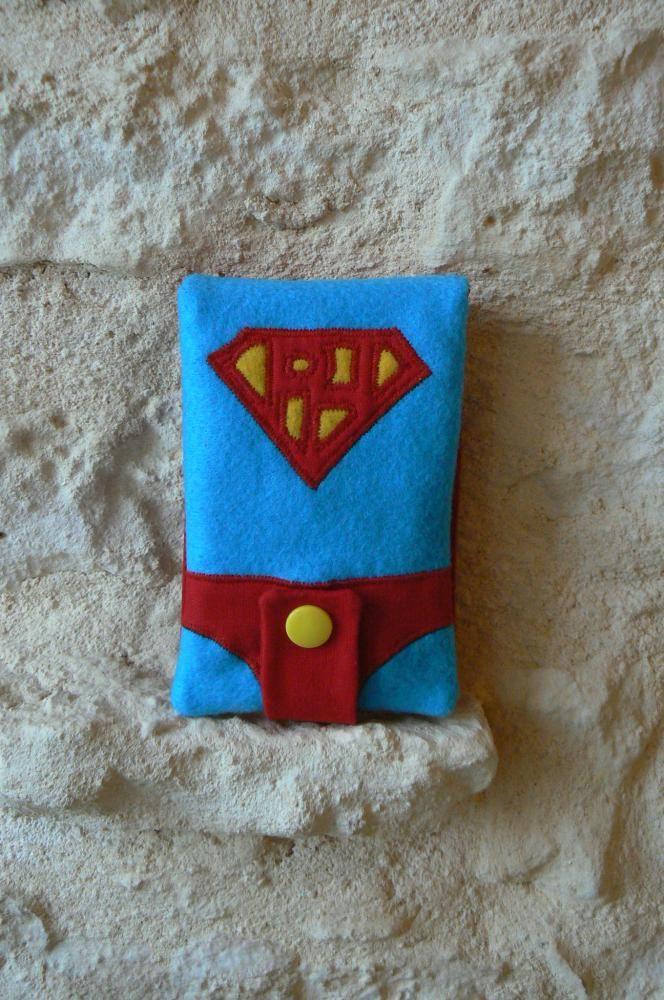 Housse portable Super Héros ! par mesptescoutures