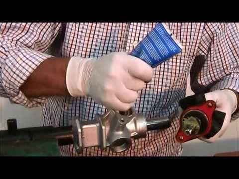 Como armar una cremallera de dirección hidráulica Toyota Corolla. http://www.timoneshidraulicos.com/