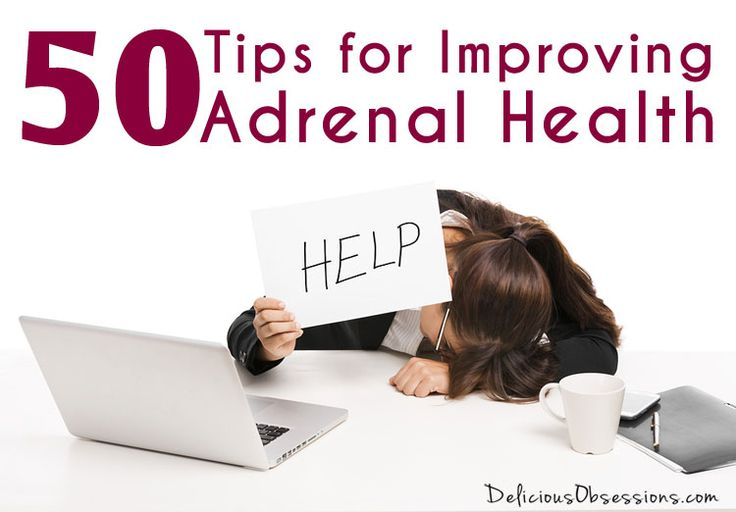 50 Tips for Improving Adrenal Health and Managing Stress   La Beℓℓe ℳystère