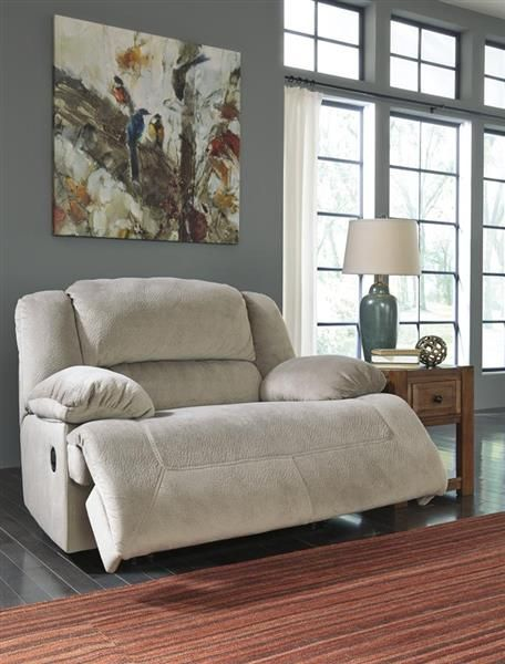 Toletta Contemporary Granite Wide Seat Recliner