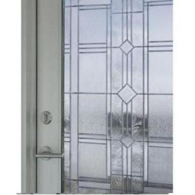 Vienna glass sidelight textured window film 12 x 83 by for 12 x 72 window