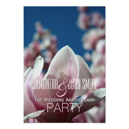 Best st anniversary party invitations images on