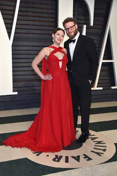 Lauren Miller & Seth Rogen - The Cutest Couples at the 2017 Oscar After Party - Photos