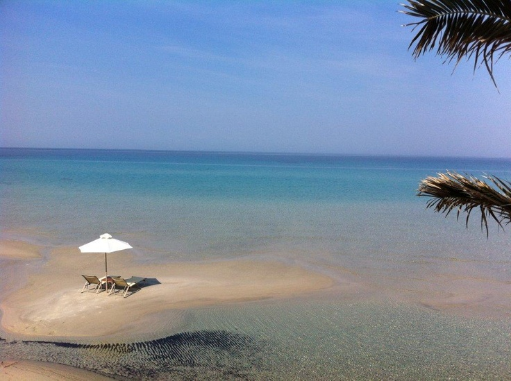 "A little ""island"" at the Sani Beach Club #Sani_Resort #Greece #Halkidiki"