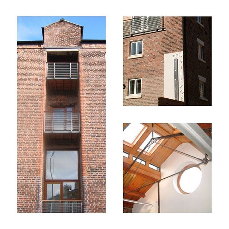 JMA - Arts Village. Renovation and extension of a small area of Liverpool City Centre. Red Brick, cast iron trusses