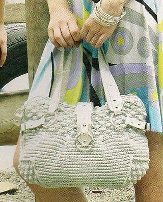 crochet bag, russian tutorial