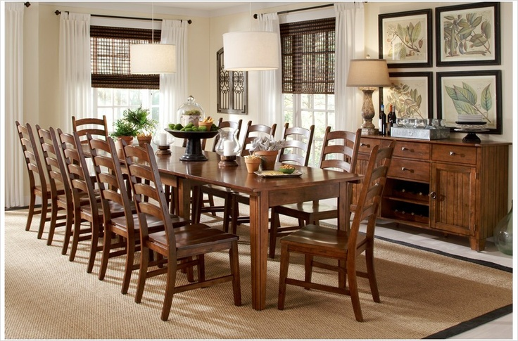 A America makes some excellent dining room sets This one  : c9e08550468e9c28b1f551f4bcebc106 from pinterest.com size 736 x 485 jpeg 173kB