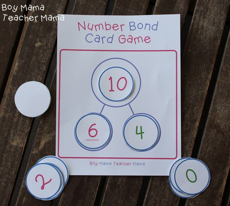 1000+ Images About Number Bonds On Pinterest