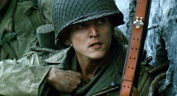 Barry Pepper is great as Private Jackson in Saving Private Ryan...sexy