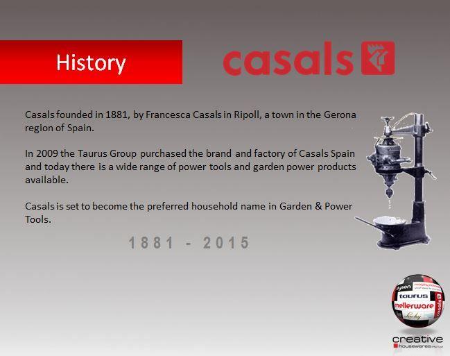 Casals History