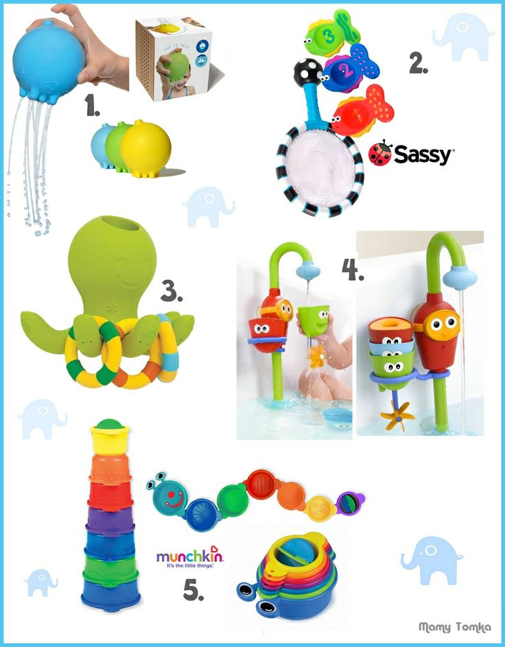 Best Bath Toys for Baby by mamytomka.pl