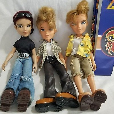 Boy Bratz Dolls lot of 3 Cameron Dylan Dressed with Shoes Posters