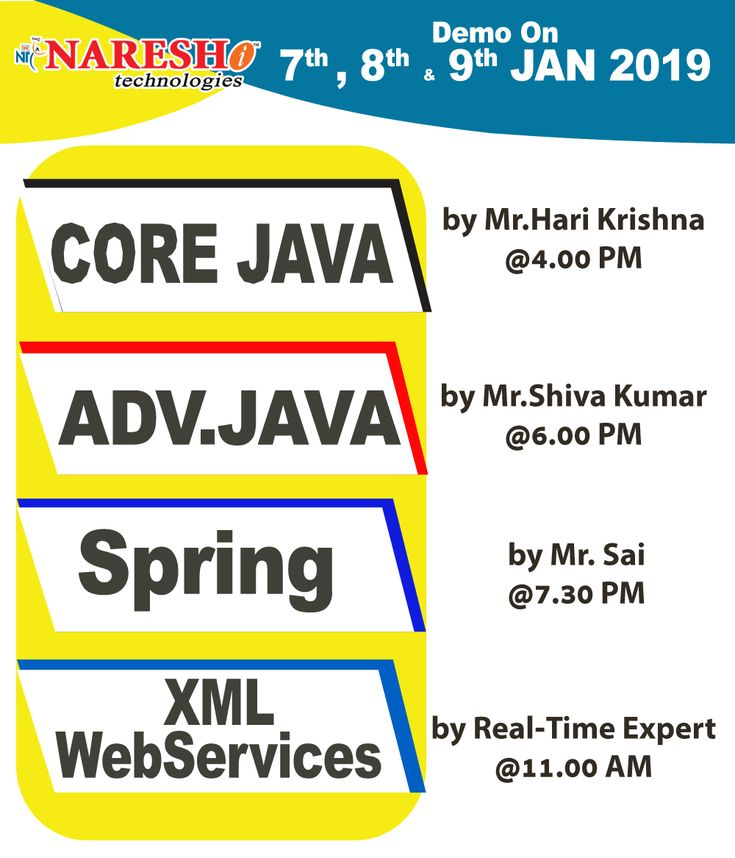 Enroll Now To Attend Free Demo On New Batches By Real-Time