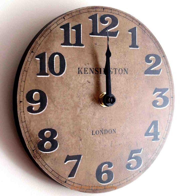 Kitchen Wall Clock Decor Ideas 11 best kitchen wall clocks images on pinterest | kitchen wall