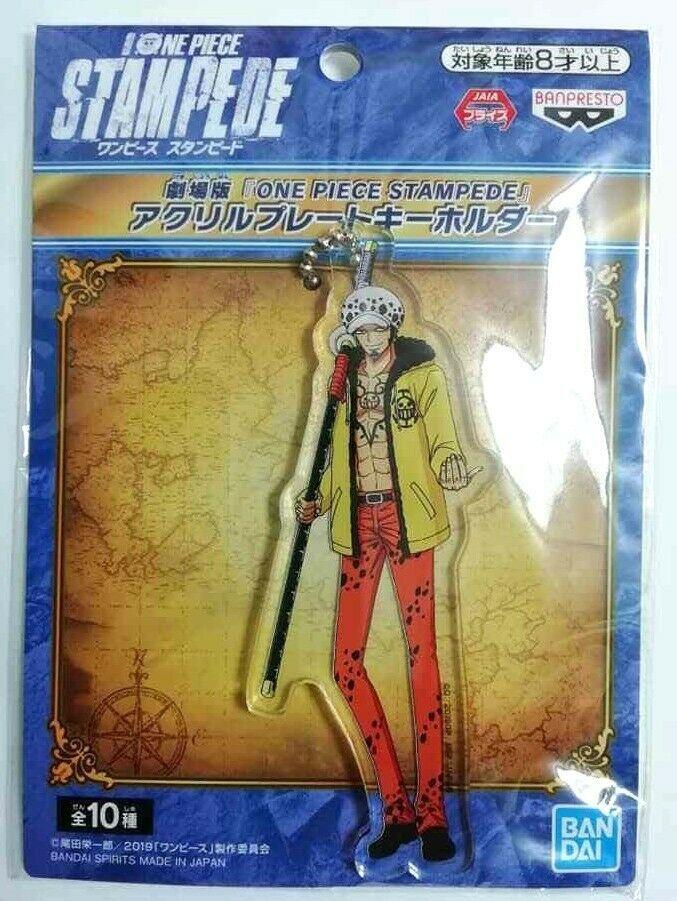 One Piece Stampede Acrylic Plate Keychain Trafalgar Law Eiichiro Oda F//S