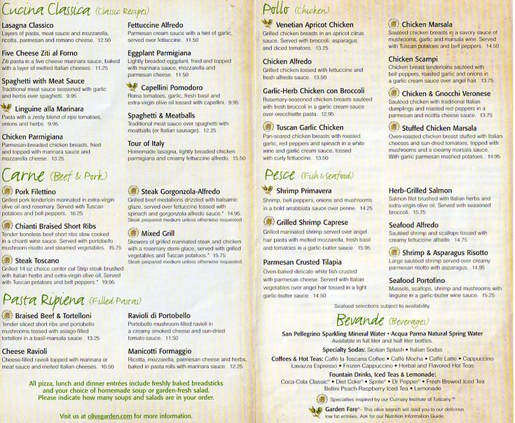 olive garden becauseimhungry gtcc menu design