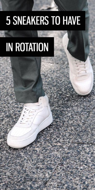 When it comes to casual, kicks are the king of men's street style but not all sneakers are created equal. Which ones should be the recurring stars of your wardrobe? Get some ideas with a list of five types of lifestyle sneakers you should always have in rotation to solidify your style game.