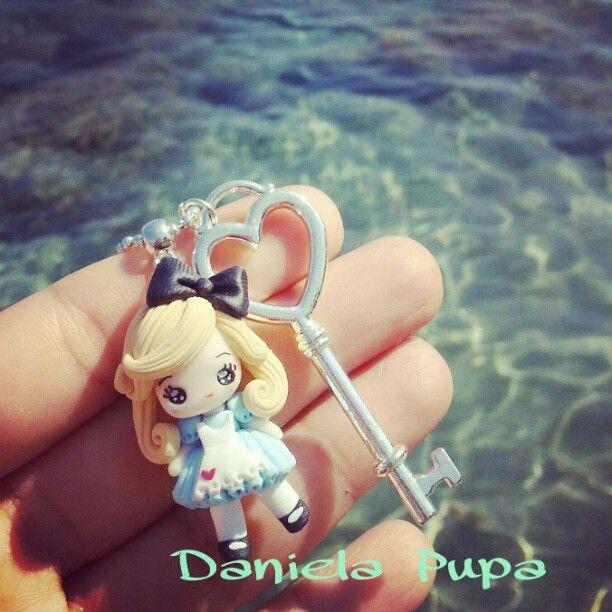 .@danielapupa | #alice # handmade #necklace #danielapupa #kawaii #jewels #doll #cute #kawai... | Webstagram