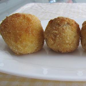 Bolas de Puré de Patatas