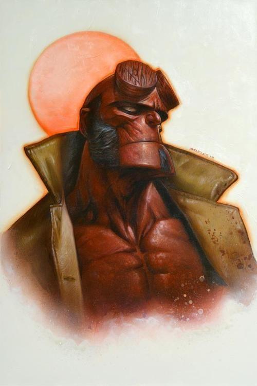 HellboybyGreg Staples. Dig it.