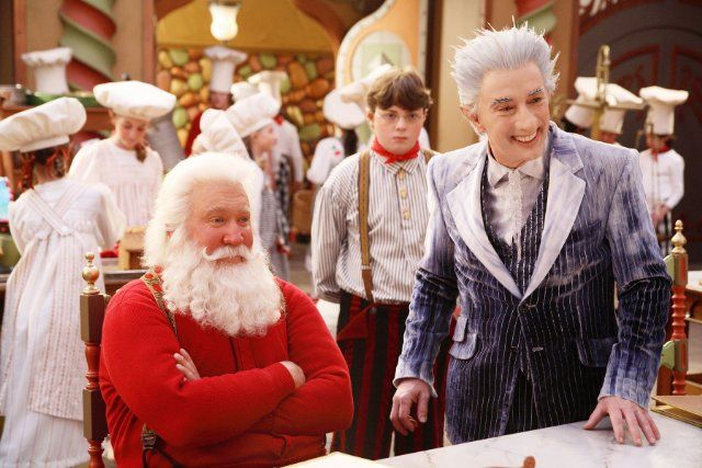 Still of Tim Allen, Martin Short and Spencer Breslin in The Santa Clause 3: The Escape Clause (2006)