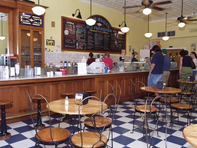 Beth Maries Denton,TX Ice cream parlow... yummm!