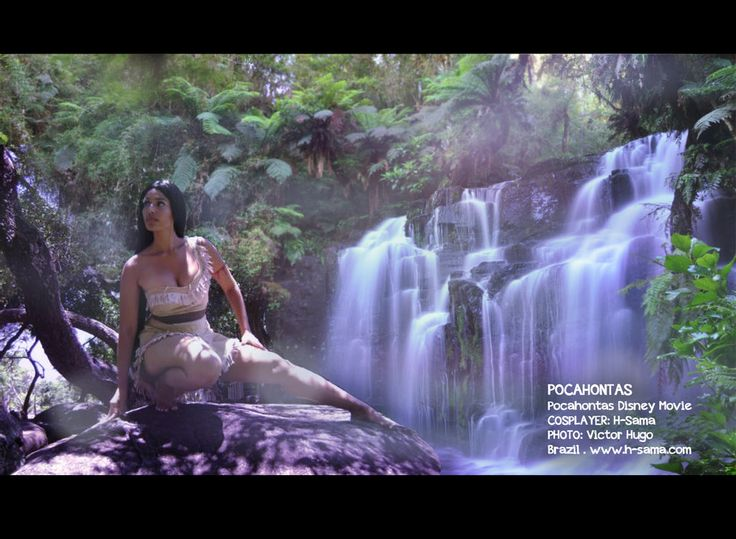 Pocahontas Waterfall by H-SAMABlog.deviantart.com on @DeviantArt: