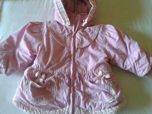 Ružová zimná bunda za 15€
