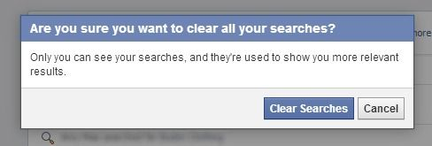 How to Delete Your Creeper Facebook Search History