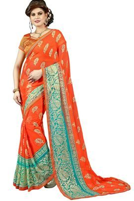 Wholesale Designer Diwali Special Festival Wear Saree Catalog
