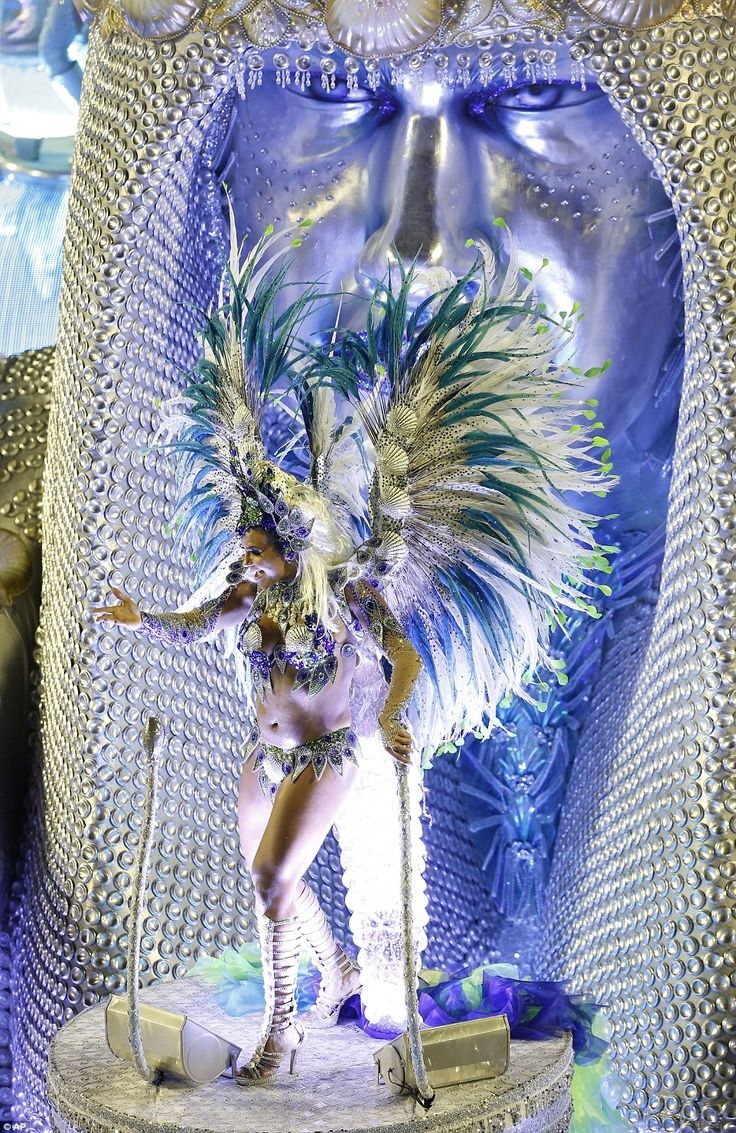 The elaborate Carnival floats take months of careful planning and preparation to create the enormous masterpieces to take part in the parade