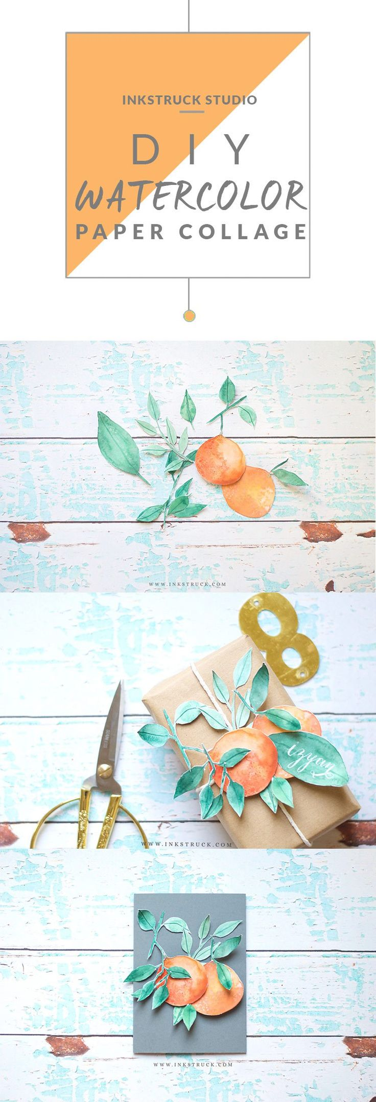 how to create mixed media collage