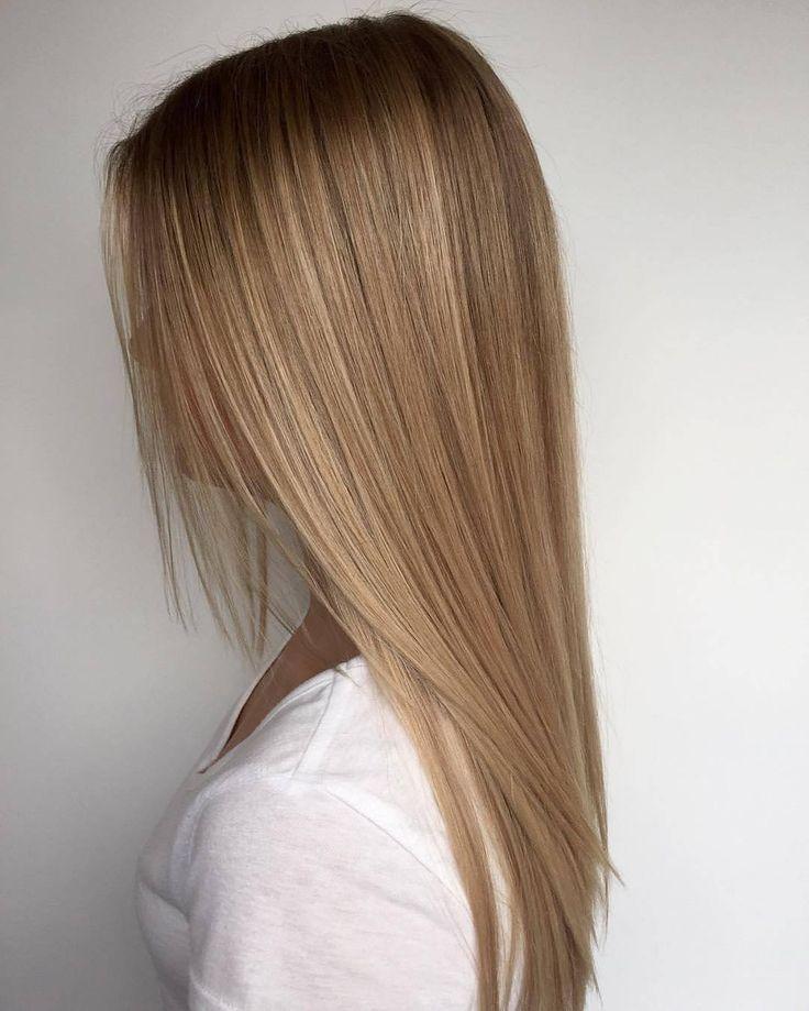 Und so wird's gemacht … root stretch by @jadephilpot_. #rootstretch #blonde – Maria Wiliams Frisuren Blog