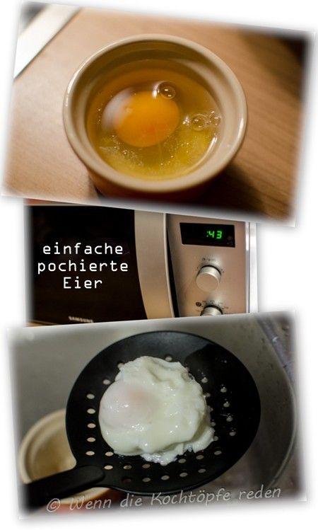 Pochierte Eier ultra einfach aus der Mikrowelle – Wenn die Kochtöpfe reden