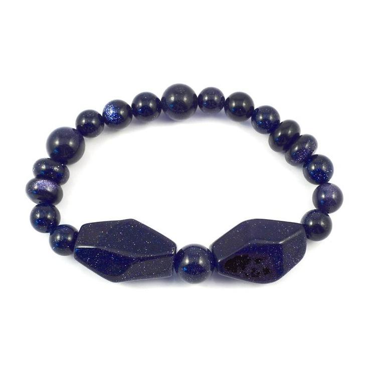 Lola Rose Eadie Blue Sandstone Bracelet £26