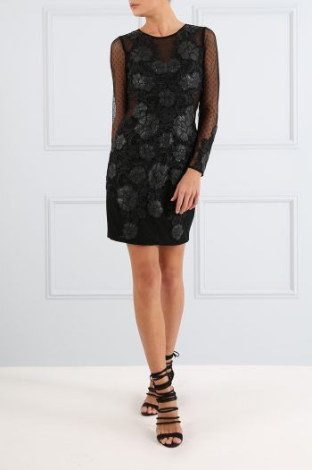 LINDA Black Floral Lace Bodycon Dress 1 220x330 What to wear to a Christening