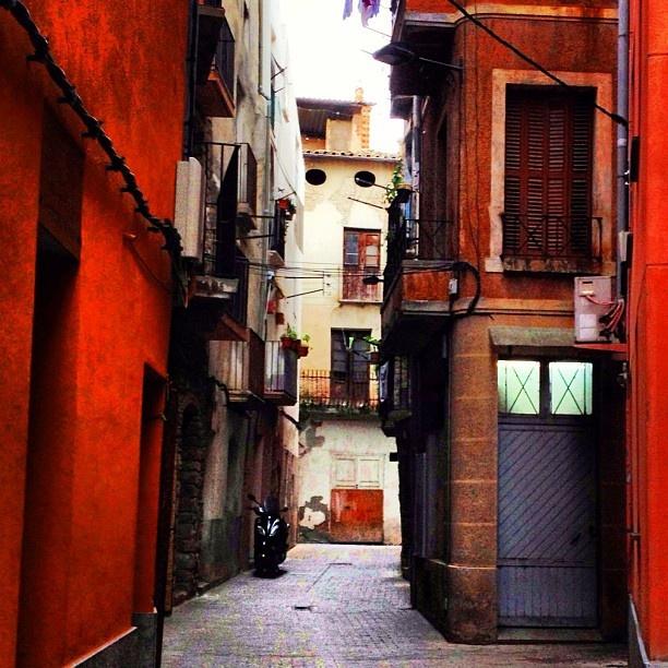 Old town from #Tremp #pallars #lleida #cayalunya http://mandongo.cat/