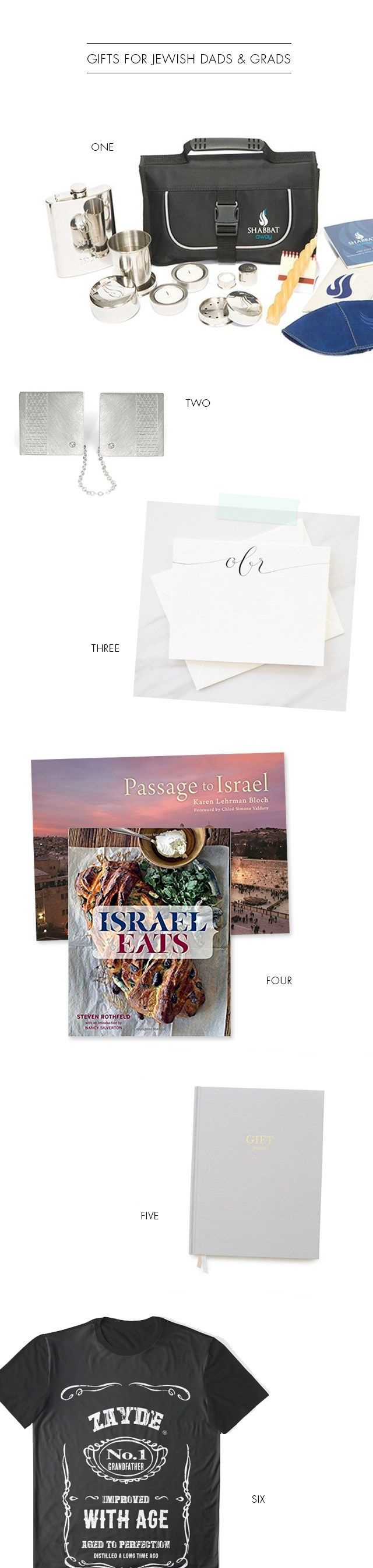 Gift Ideas for the Jewish Dad & Grad