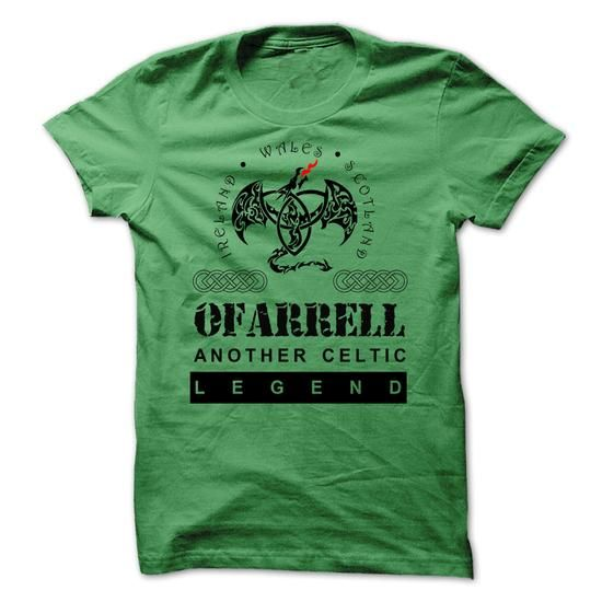 Awesome Tee OFARRELL Another Celtic Legend. Shirts & Tees