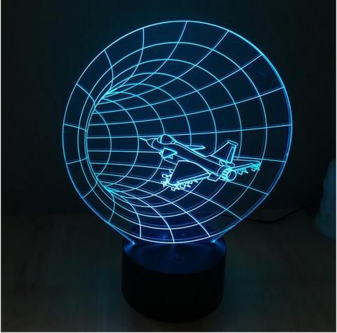 TIME MACHINE  3D illusion night light
