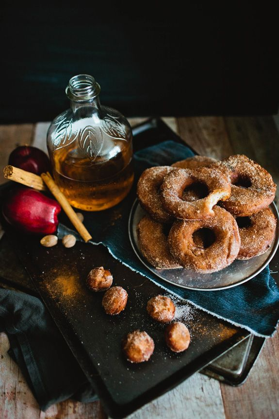 It's Fall, which means it's time for tasty home-baked treats like apple cider donuts, pumpkin cupcakes, and pecan bars!