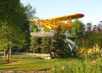 Norsemen plane at Red Lake, Ontario, Canada.