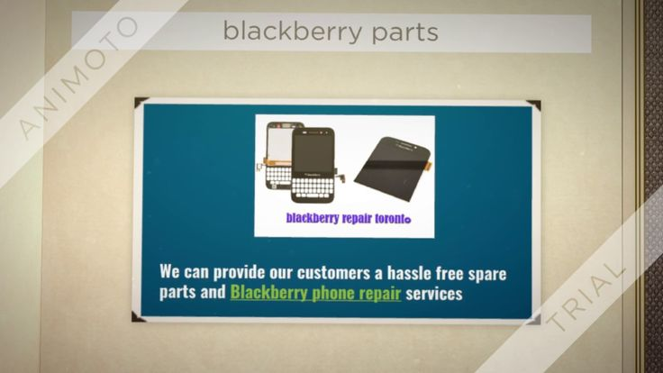 Wide range of blackberry accessories and replacement parts