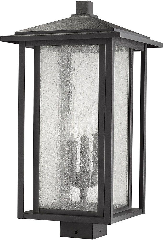 Z Lite 554phxls Bk Aspen Black Exterior Lamp Post Light Lamp