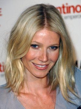 Gwyneth Paltrow with Wavy Bob Hairstyle
