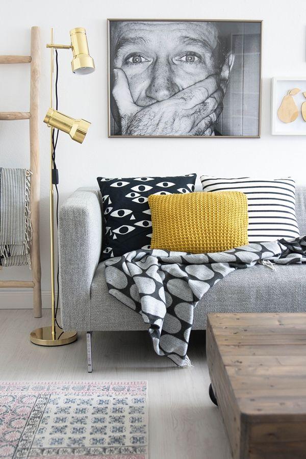 Die besten 25+ Lampe schwarz gold Ideen auf Pinterest Silberne - wohnzimmer weis schwarz gold
